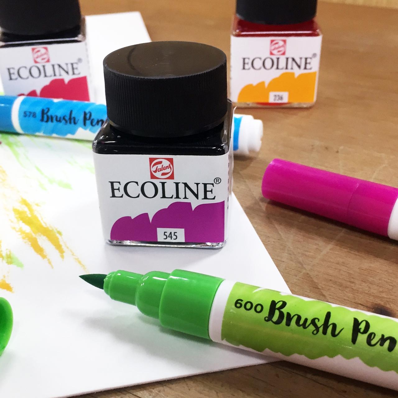 Talens Ecoline Colour Chart