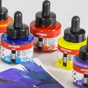 Amsterdam Acrylic Colour Chart