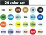 Picture of Copic Ciao Set 24
