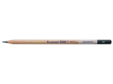 Picture of Bruynzeel Design Graphite Pencil 2B