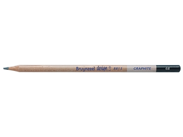 Picture of Bruynzeel Design Graphite Pencil 6B