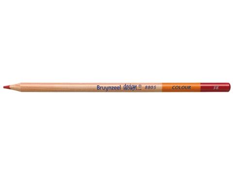 Picture of Bruynzeel Design Coloured Pencil 38 Carmine