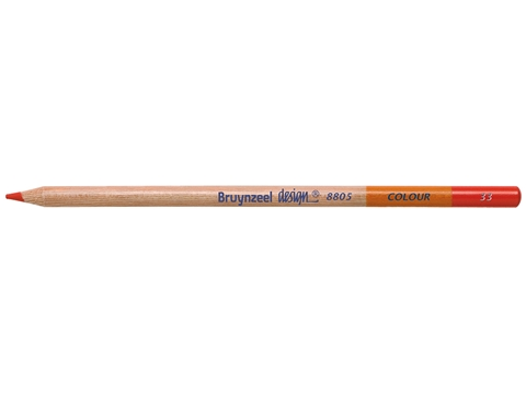 Picture of Bruynzeel Design Coloured Pencil 33 Deep Red