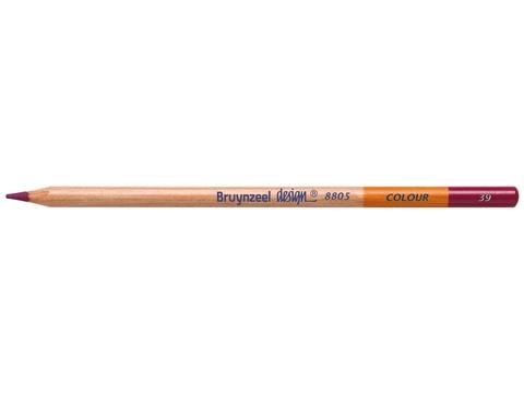 Picture of Bruynzeel Design Coloured Pencil 39 Magenta