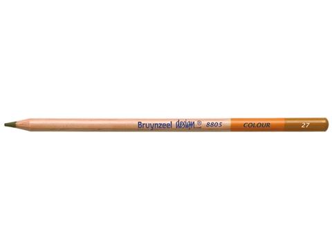 Picture of Bruynzeel Design Coloured Pencil 27 Yellow Ochre