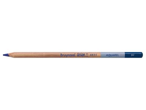 Picture of Bruynzeel Design Aquarel Pencil Dark Violet 91