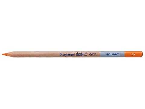 Picture of Bruynzeel Design Aquarel Pencil Perm Orange 18