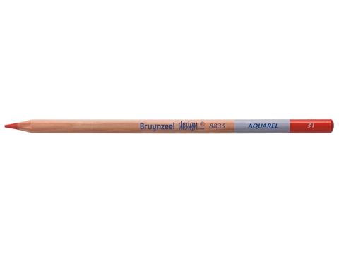 Picture of Bruynzeel Design Aquarel Pencil Vermillion 31