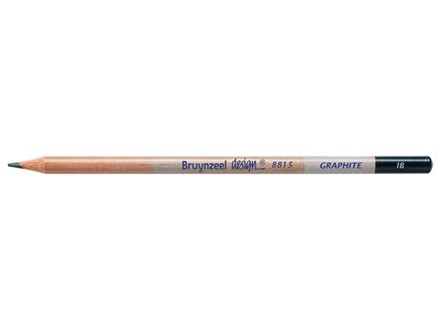 Picture of Bruynzeel Design Graphite Pencil 1B