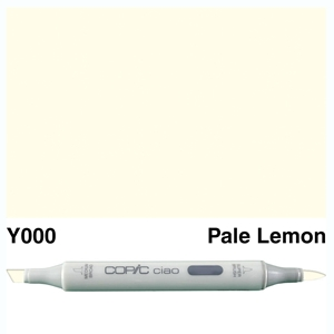 Picture of Copic Ciao Y000-Pale Lemon