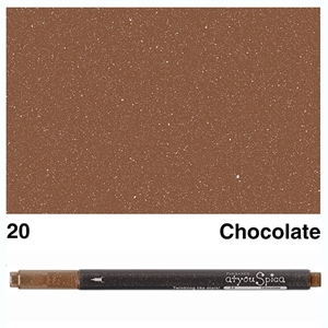 Picture of at you Spica Glitter Pen Chocolate