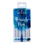 Picture of Ecoline Brushpen Set 5pc -Blue