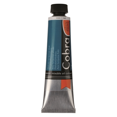 Picture of Cobra Artist Water Mixable Oil - 565 - Phthalo Turq Blue 40ml