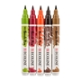 Picture of Ecoline Brushpen Set 5pc -Autumn