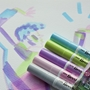 Picture of Ecoline Brushpen Set 5pc -Pastel