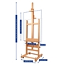 Picture of MABEF M19 Double Sided Studio Easel