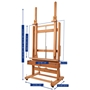 Picture of MABEF M02+ Studio Easel Double Mast Crank For Elev + In