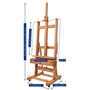 Picture of MABEF M04+ Studio Easel With Crank For Elev + Inc