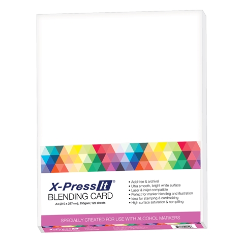 Picture of X-Press It Blending Card A3 (125pk)
