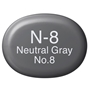 Picture of Copic Sketch N8-Neutral Gray No.8